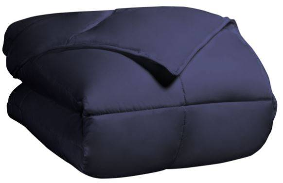All Season Down Alternative Comforter King/Cal King Navy Blue