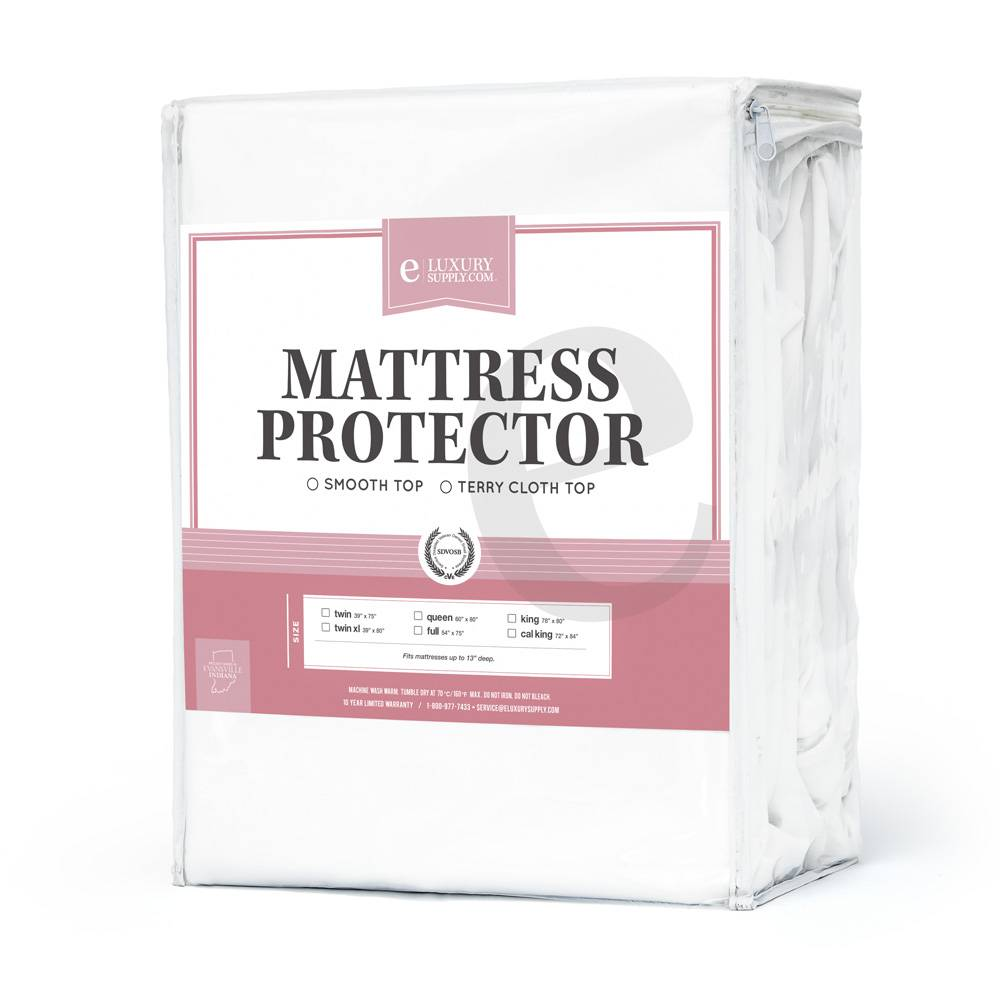 Full Mattress Protector Waterproof - Breathable and Cooling - 10 Year Warranty - Dust Mite & Allergen Protection Full (54'' x 75