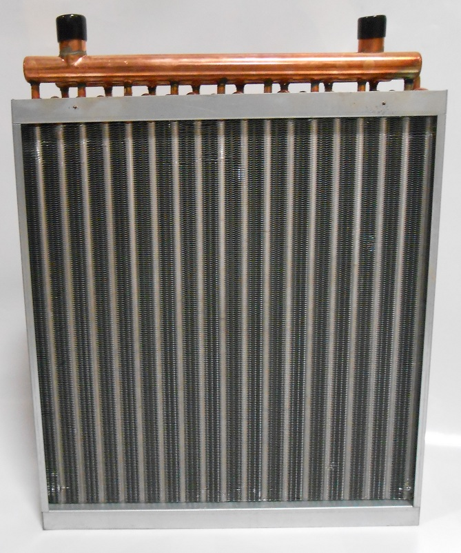 20x20 Water to Air Heat Exchanger Hot Water Coil Outdoor Woo