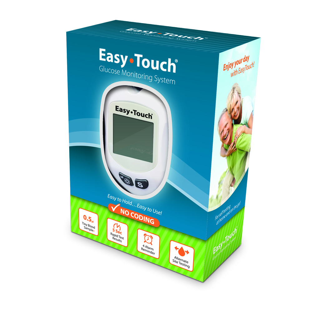 Easy Touch Glucose Monitoring System Model 807001 Ebay