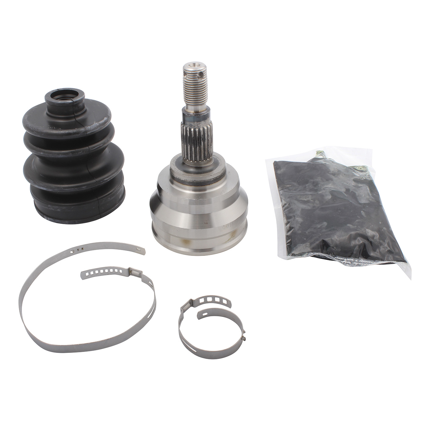 Inner /& Outer CV Axle Boot Kit For Honda TRX 680 Rincon with 4x4 2006 2007 ATV