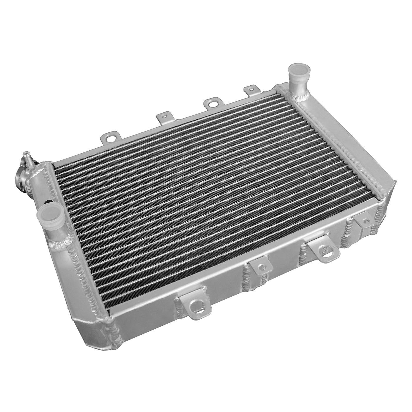 For YAMAHA ATV QUAD GRIZZLY YFM700//550 2007-2011 2008 09 2010 Aluminum Radiator
