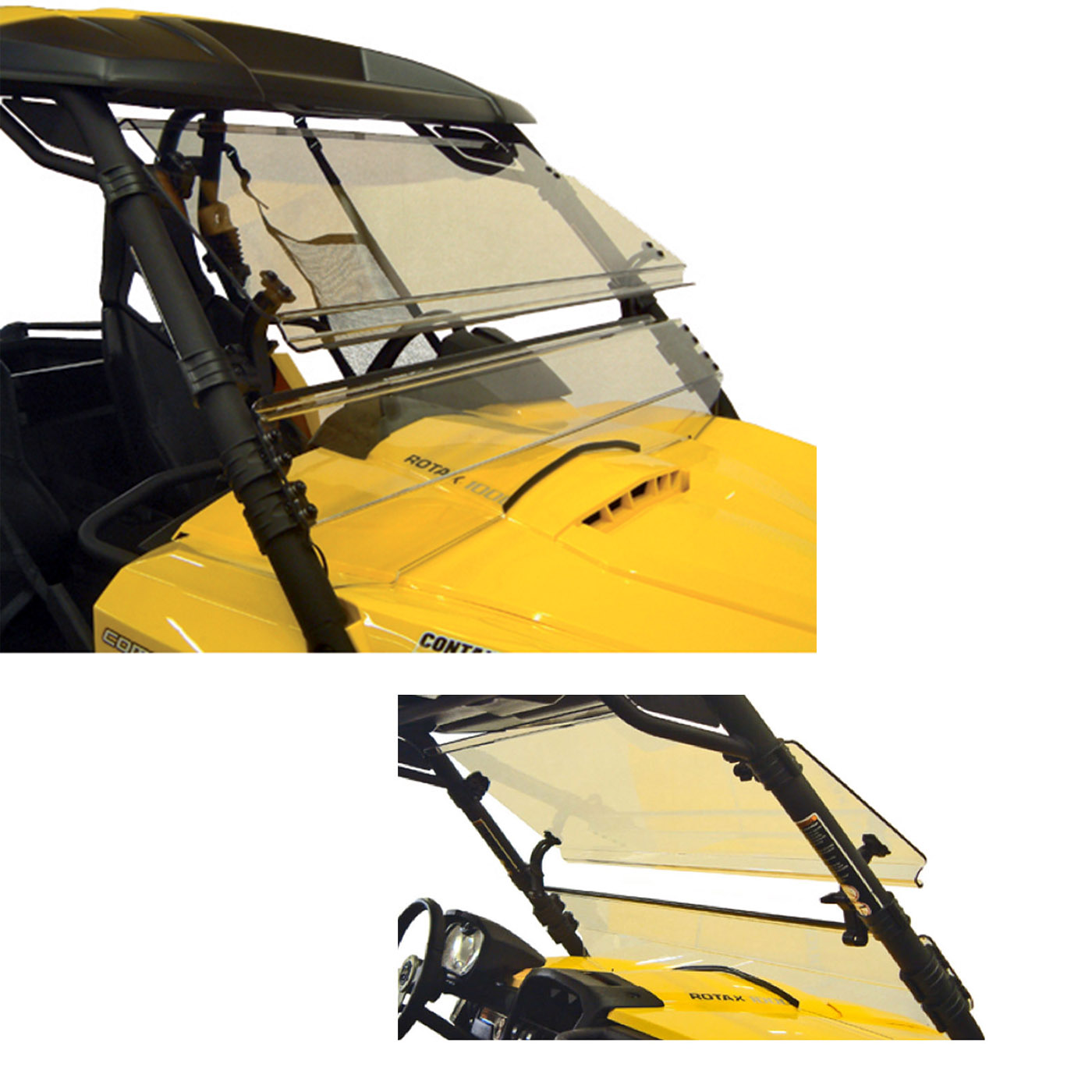 Details about Full Tilt Windshield Can-Am Commander 1000 Max 1000 800 800R  2011 to 2019 Lexan