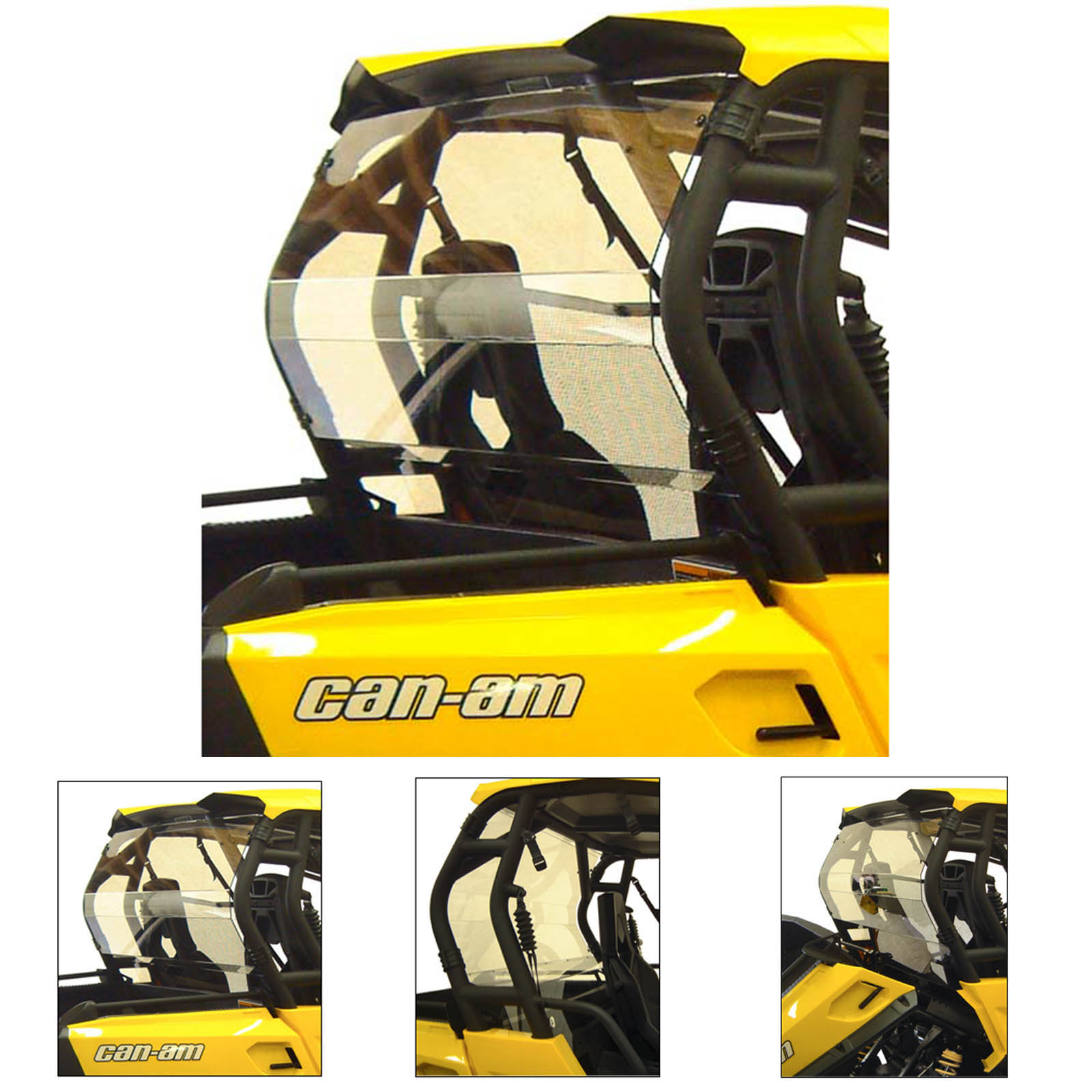 Open Trail Full Front Windshield Can-Am Commander 800 1000 2011-2018+