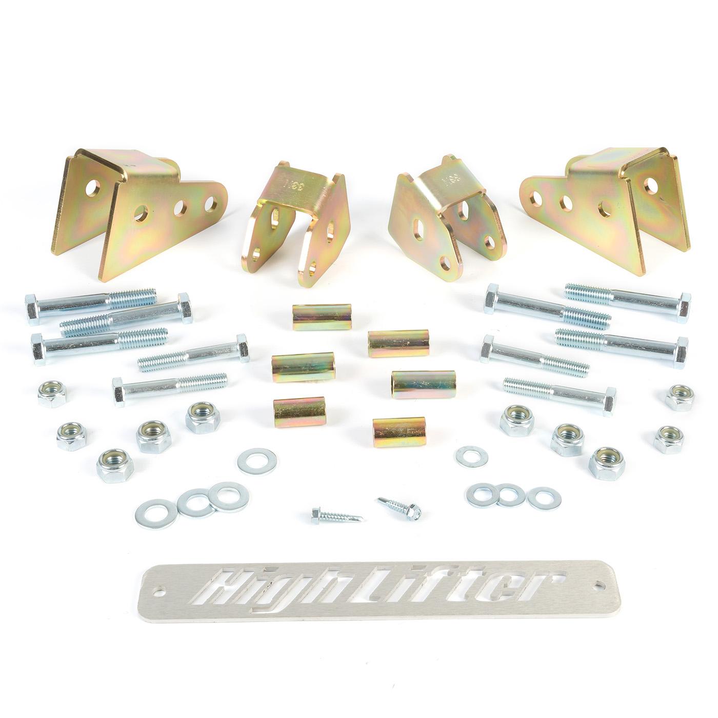 """High Lifter 2.5/"""" Lift Lift Kit KLK800T4-50"""
