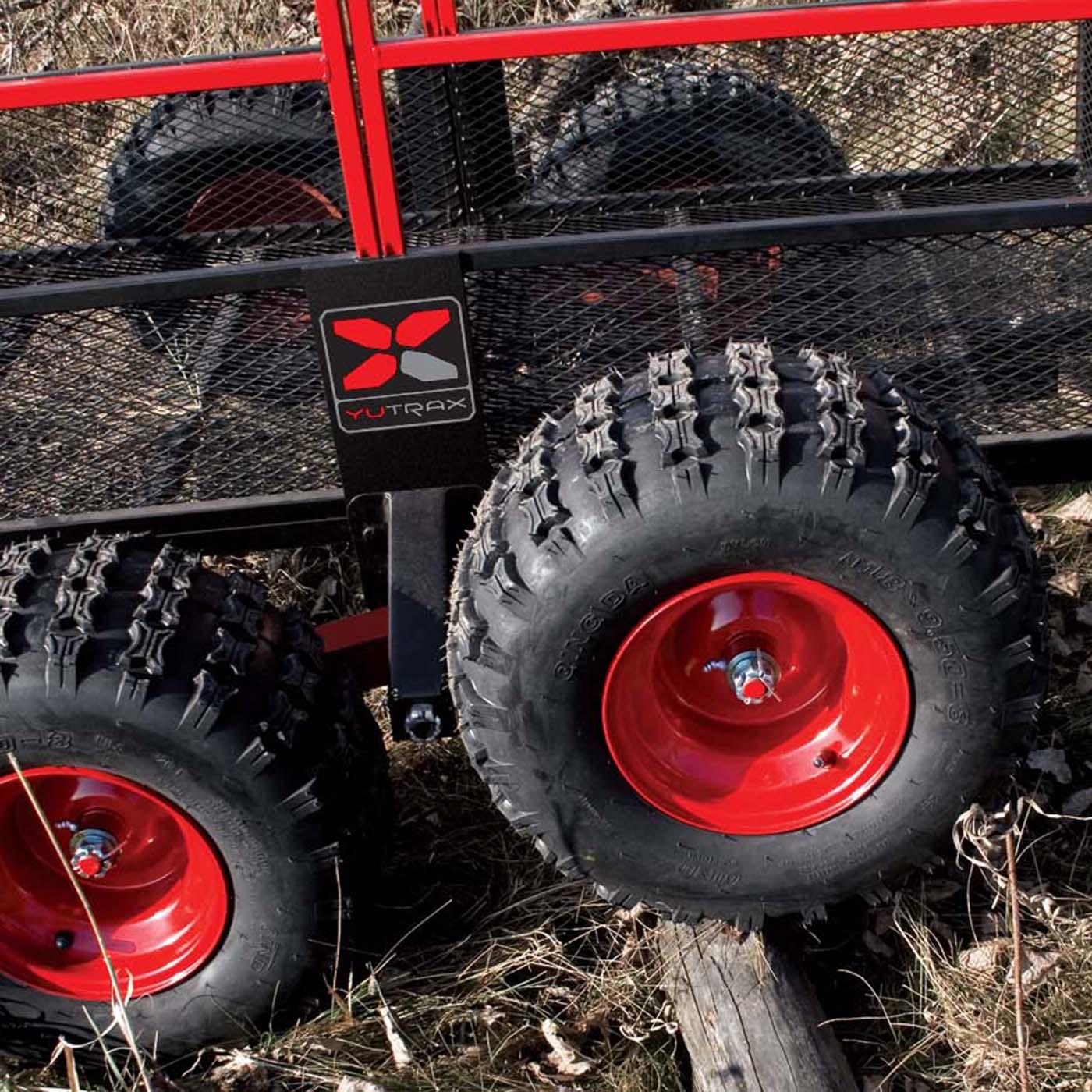 Yutrax Tx191 Atv Trailer Tracking Beam Axle Kit Loading Heavy Duty Ebay