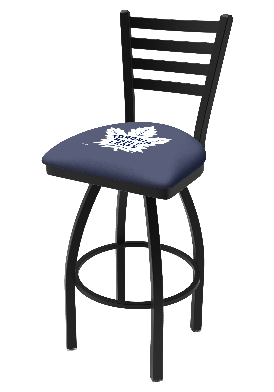 Kansas Jayhawks HBS Blue Vinyl Elastic Slip Over Bar Stool Seat Cushion Cover