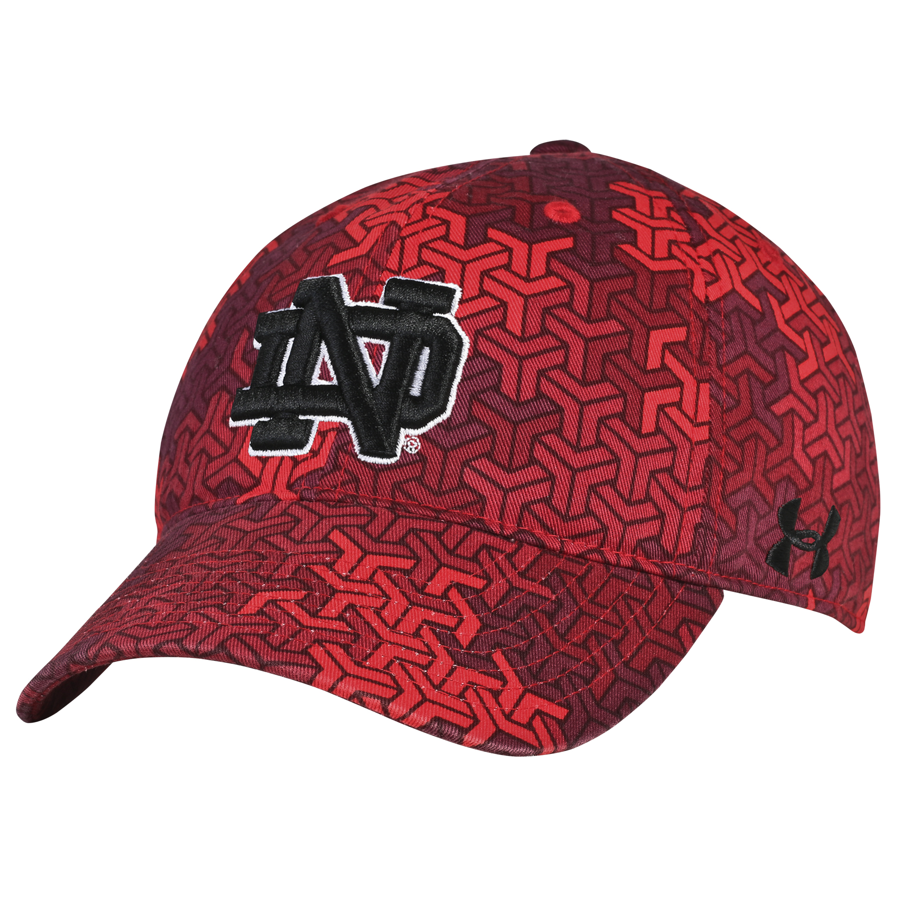 timeless design 1f100 c2de2 Notre Dame Fighting Irish Under Armour Youth Signal Caller HeatGear Adj Hat  Cap