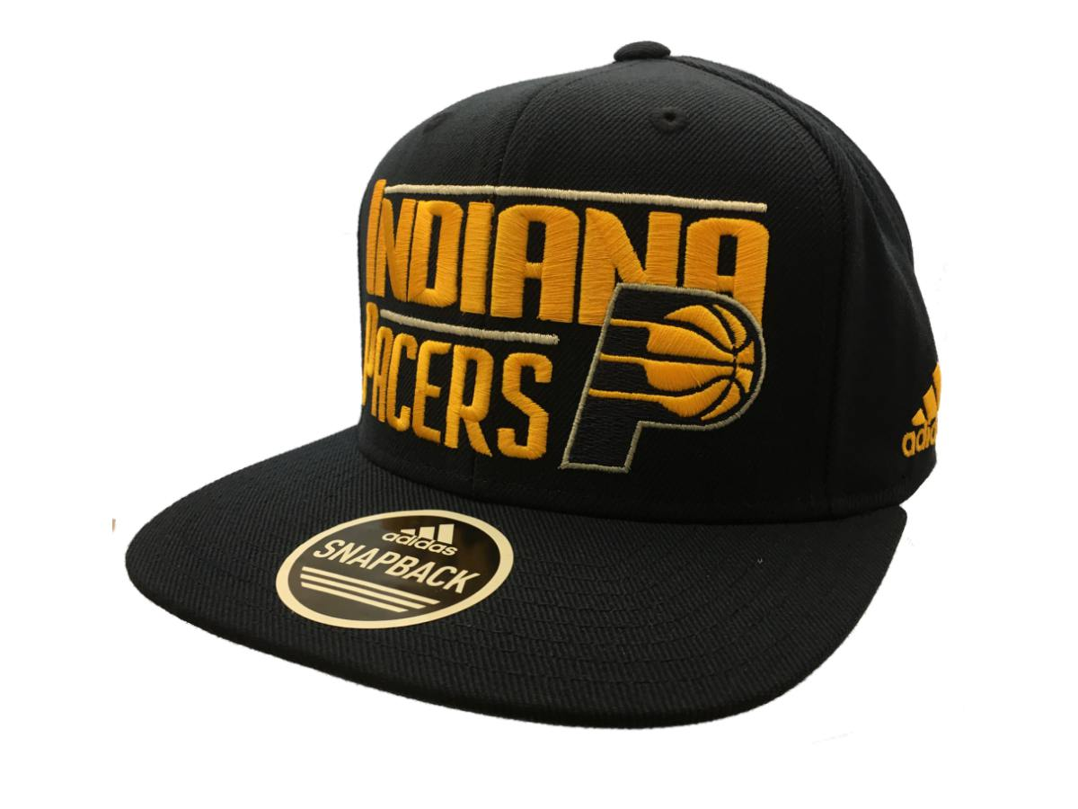 c190705df2c Indiana Pacers Adidas Navy Structured Adjustable Snapback Flat Bill Hat Cap