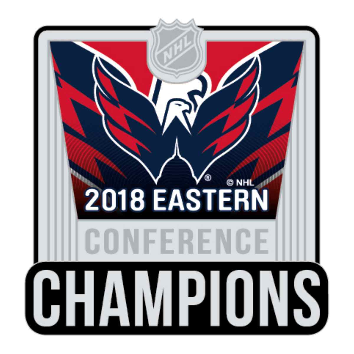 684d12cc92b Details about Washington Capitals 2018 Stanley Cup Final Eastern Conf  Champions Lapel Pin
