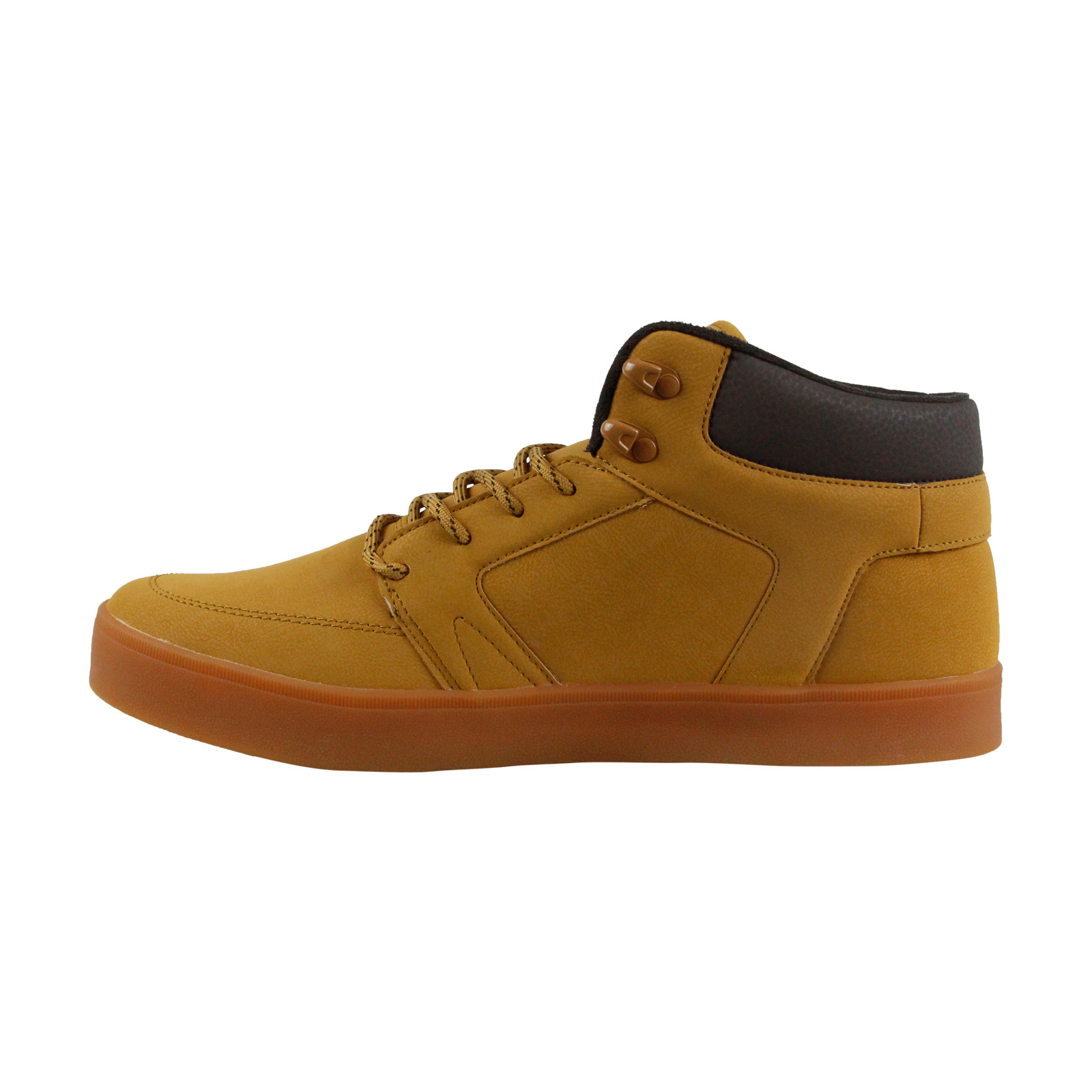 Osiris Leder Helix  Uomo Tan Leder Osiris Lace Up Sneakers Schuhes b3ff41
