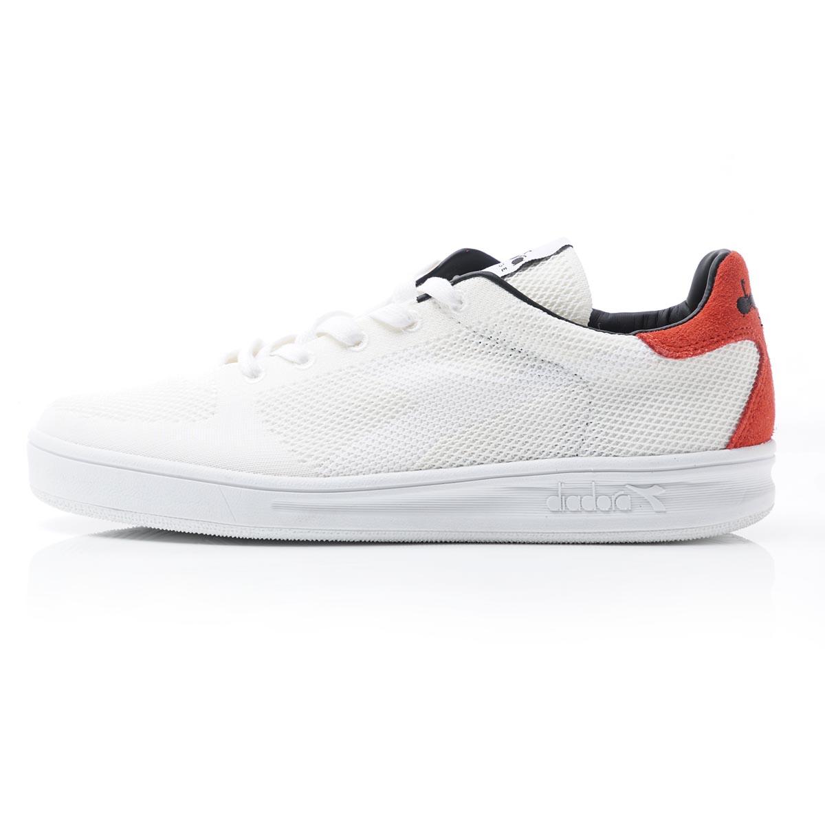 Textile Sneakers Weave Ebay Mens elite Diadora White Lace B Shoes Up 8wv7H8Xxnq