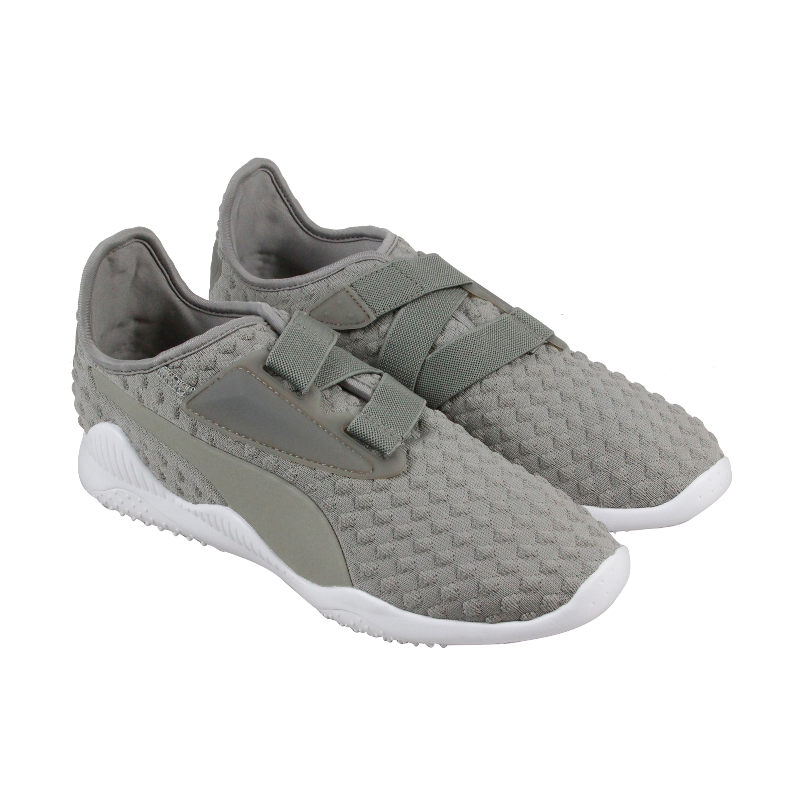 Puma Mostro Bubble Knit Mens Gray Textile Strap Sneakers Shoes 11