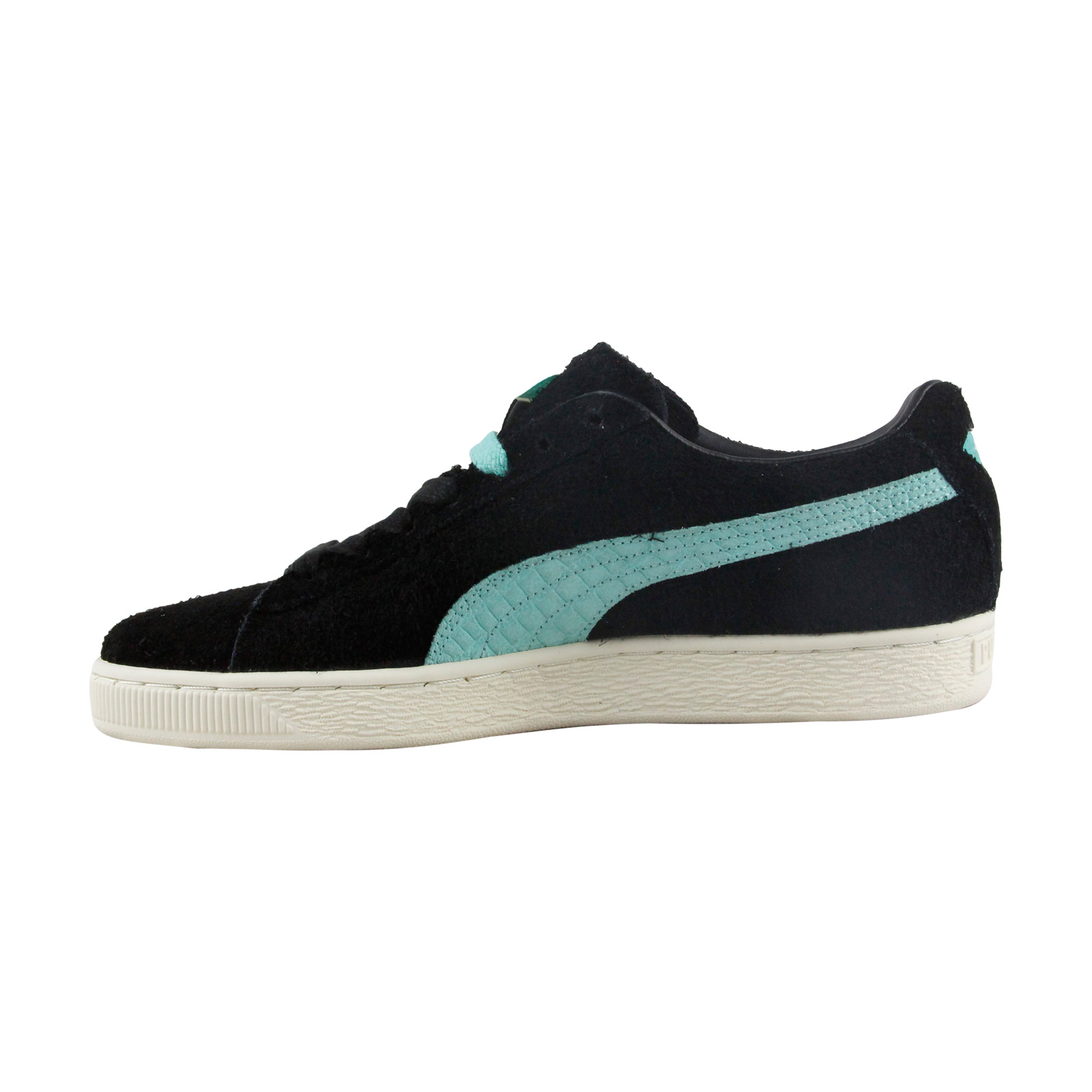1 of 3FREE Shipping Puma X Diamond Suede Mens Black Suede Lace Up Sneakers  Shoes d660e6e9e