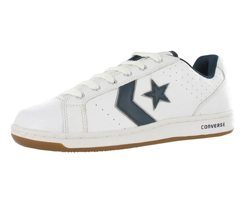 db4761edfc62 Image is loading Converse-Karve-Ox-Skate-Shoes-White-navy-Sz