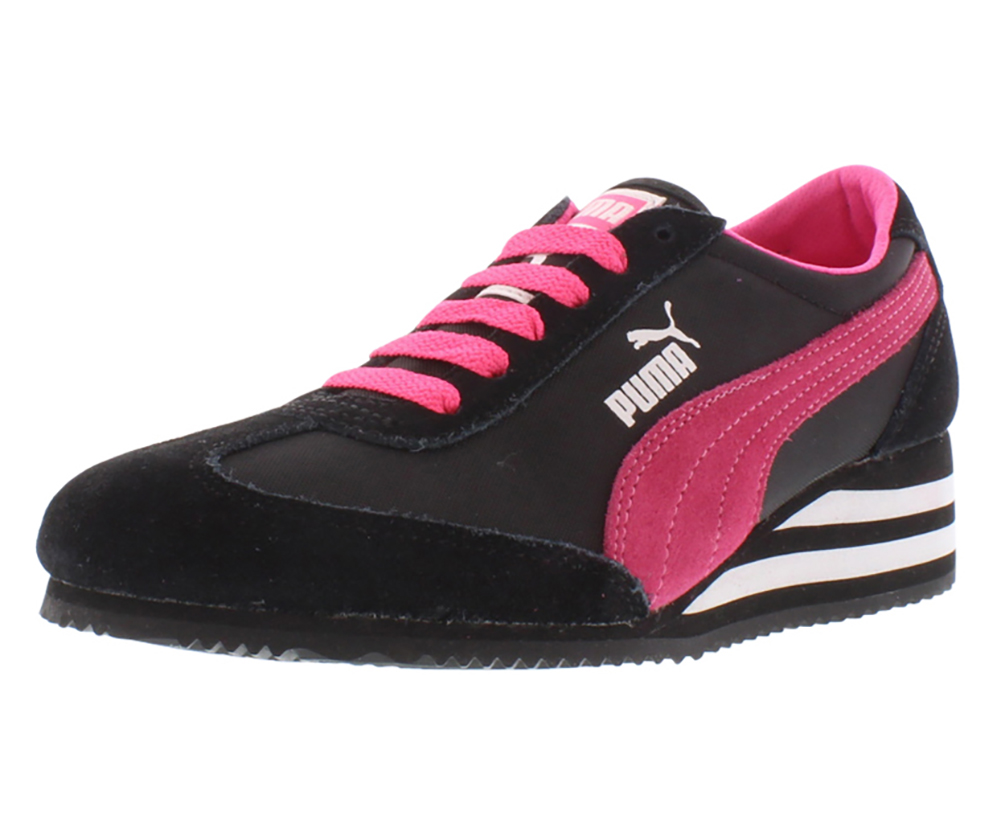 Puma Caroline Stripe Wedge Women's Shoes