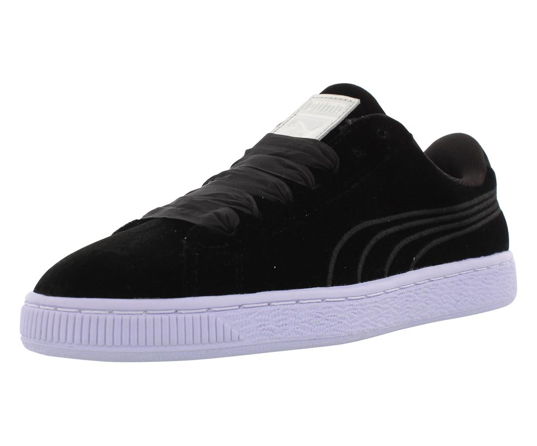 Puma Basket Classic Velour Casual Women's Shoes