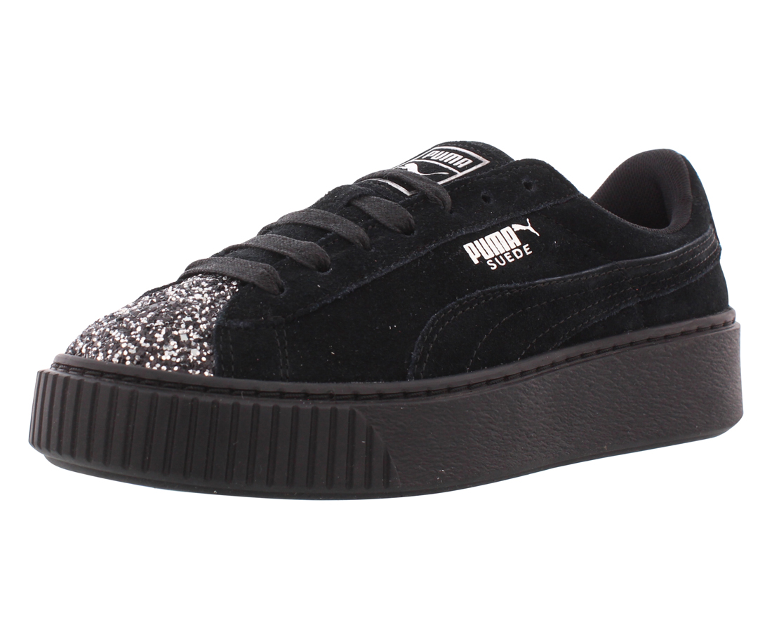 Puma Suede Platform Crushed Gem Casual Women's Shoes