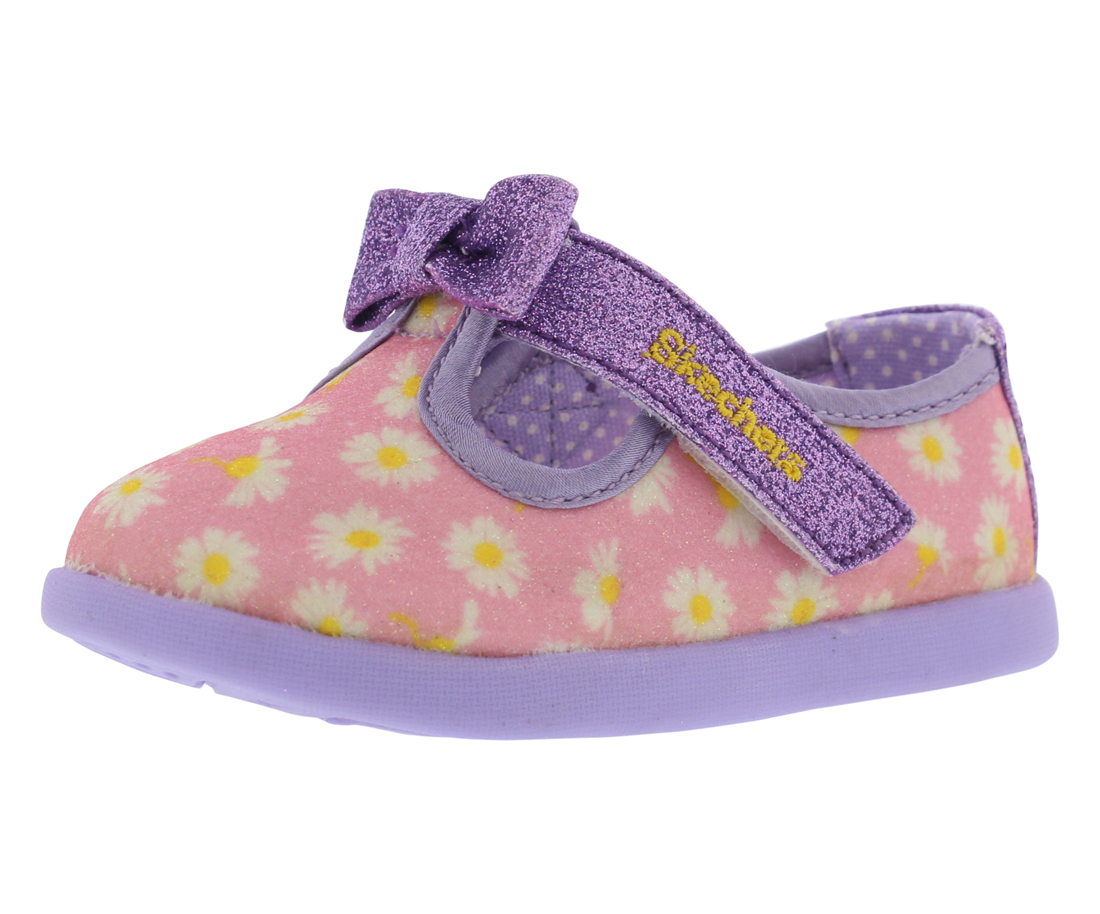 Skechers Solestice Beauty Bows Mary Jane Infant's Shoes