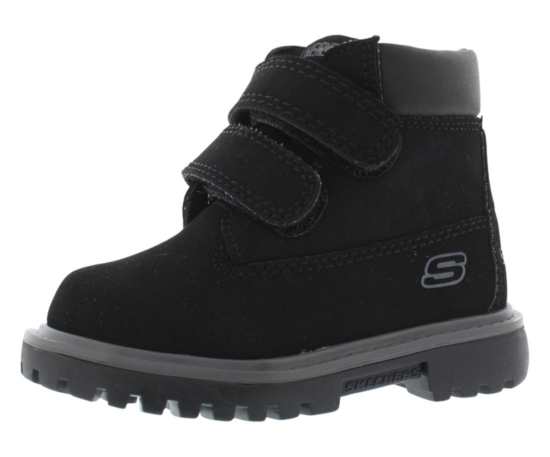 Skechers Double Strap 6 Boy's Shoes Size