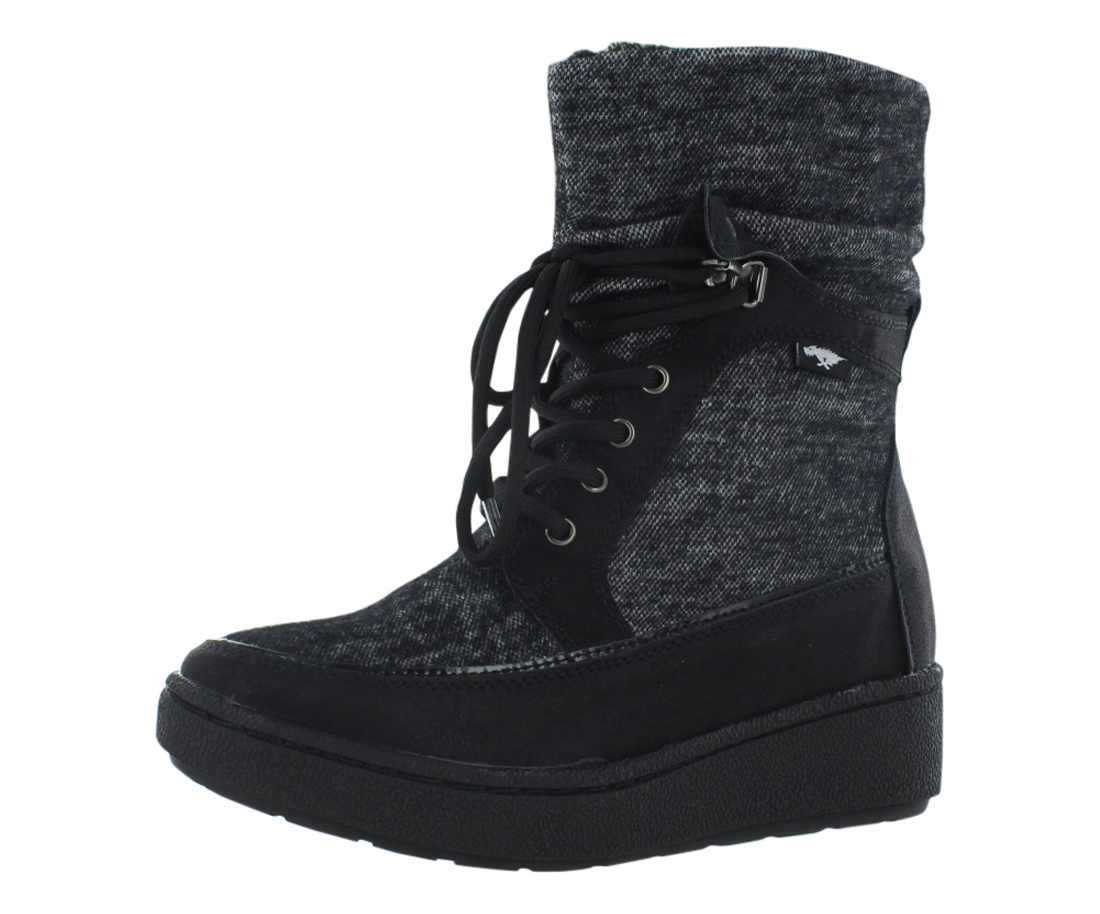 Rocket Dog Cray Marbles Fabric Boots Women's Shoes