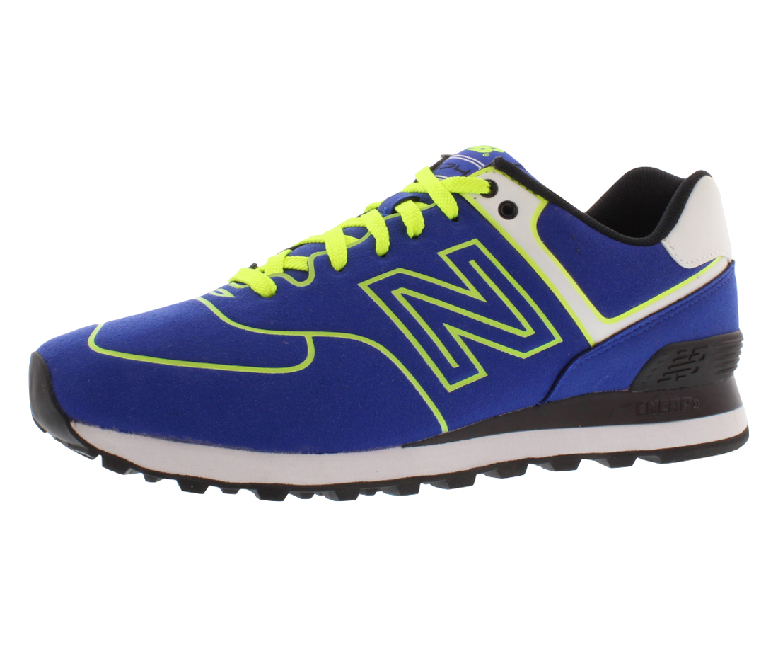 New Balance 574 Neon Women's Shoes