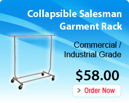 Collapsible Salesman Garment Rack