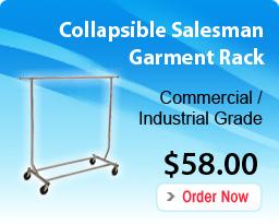 Collapsible Salesman Garment Rack