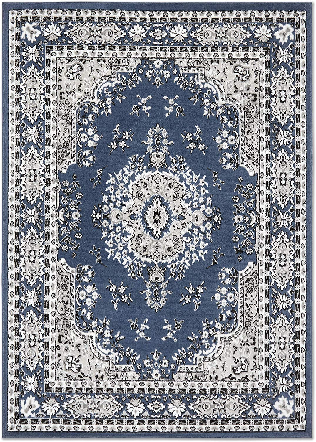 Large-Traditional-8x11-Oriental-Area-Rug-Persien-Style-Carpet-Approx-7-039-8-034-x10-039-8-034 thumbnail 13