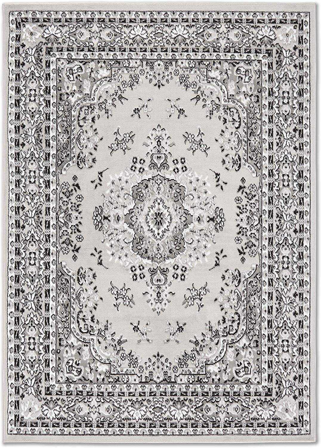 Large-Traditional-8x11-Oriental-Area-Rug-Persien-Style-Carpet-Approx-7-039-8-034-x10-039-8-034 thumbnail 11