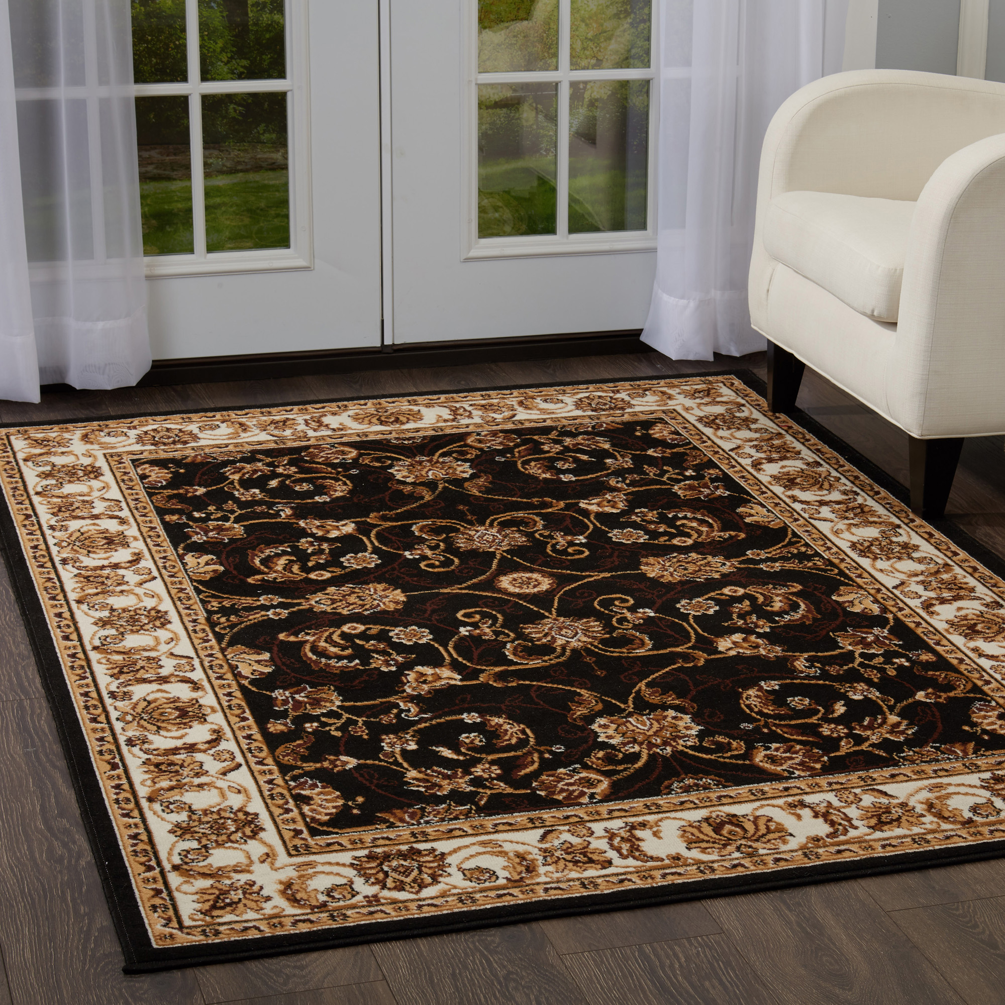 Traditional Medallion Persien 3 Pcs Area Rug Oriental