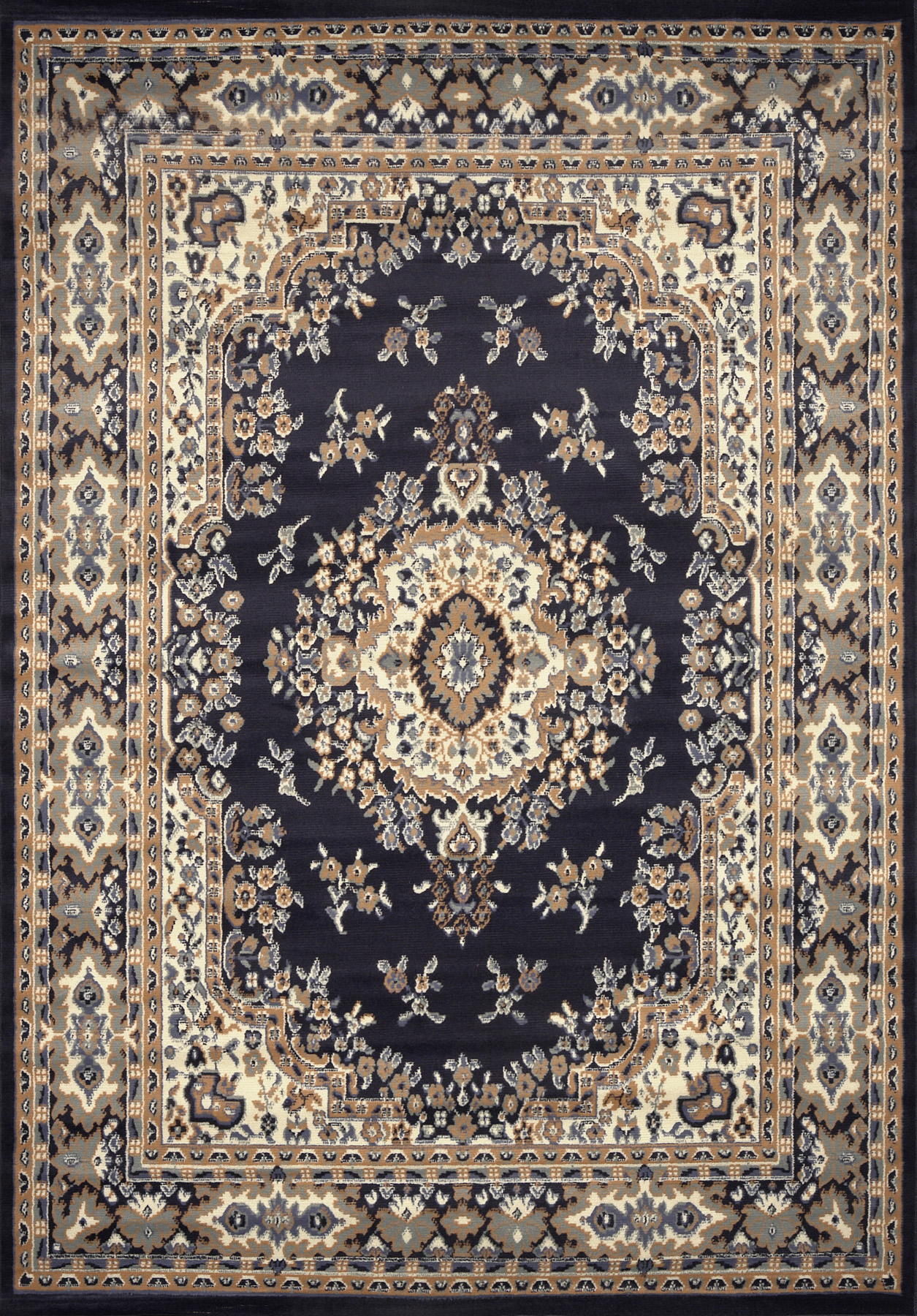 Large Traditional 9x12 Oriental Area Rug Persian Style
