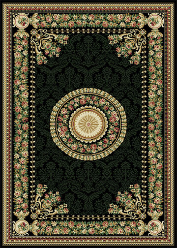 Traditional Persien Area Rug 8x11 Oriental Border Carpet
