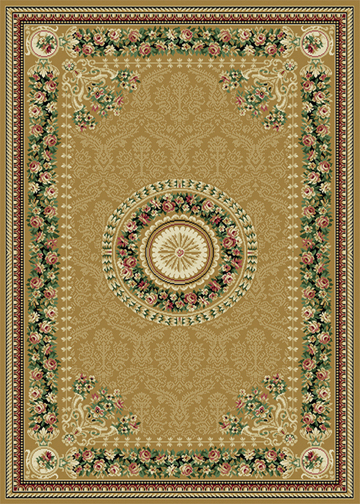 Traditional Persien Area Rug 8x11 Oriental Border Carpet