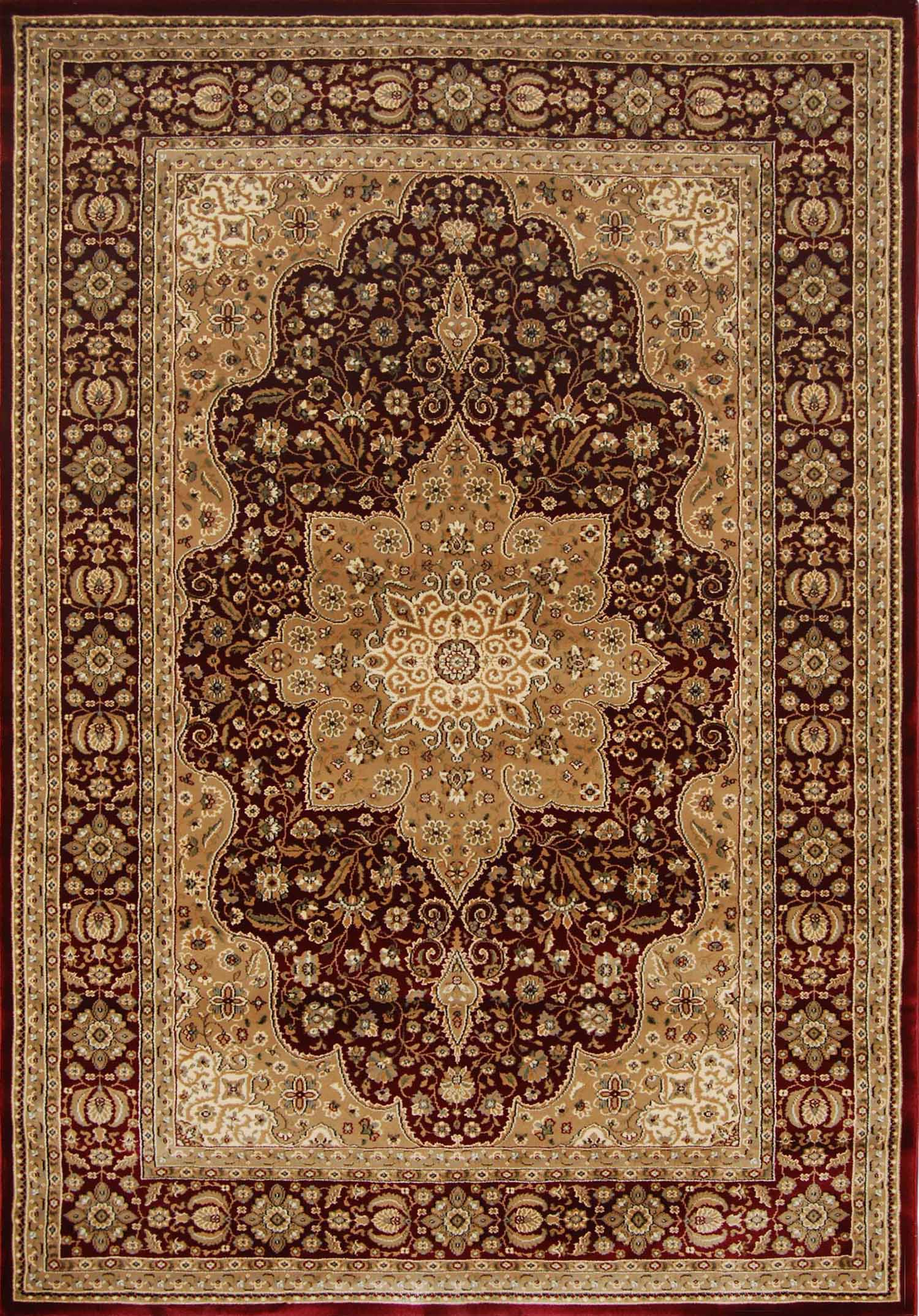 Persian Burgundy Area Rug 9x13 Oriental Carpet 1128b