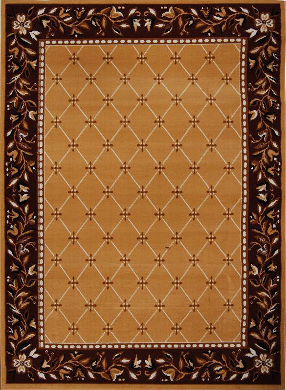 Trellis Moroccan Tile Area Rug Or Floral Lattice Modern
