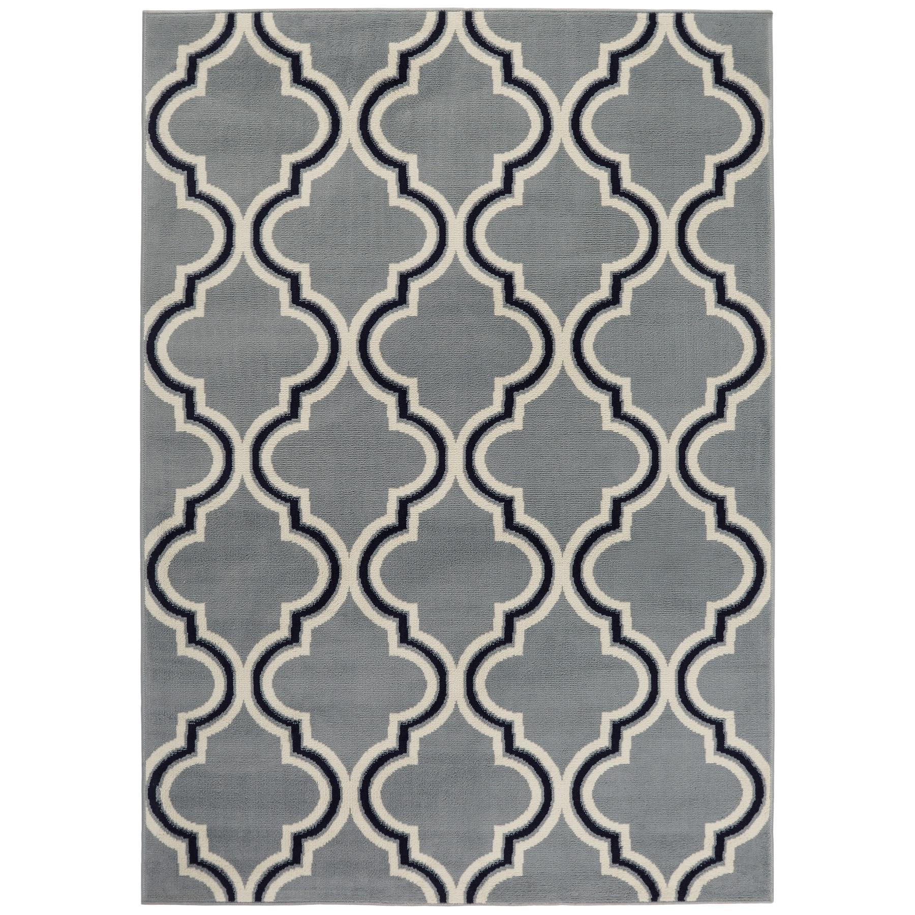 Trellis-Moroccan-Tile-Area-Rug-or-Floral-Lattice-Modern-Carpet-All-Sizes-Colors