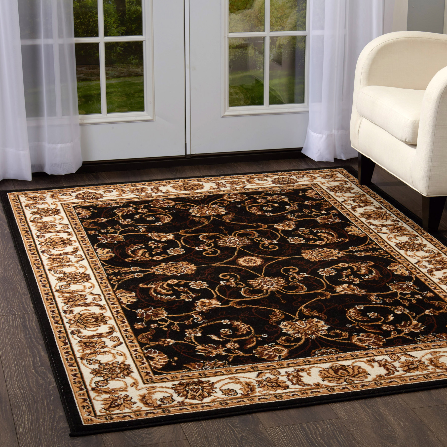 Rugs Area Rugs Carpet Flooring Persian Area Rug Brown