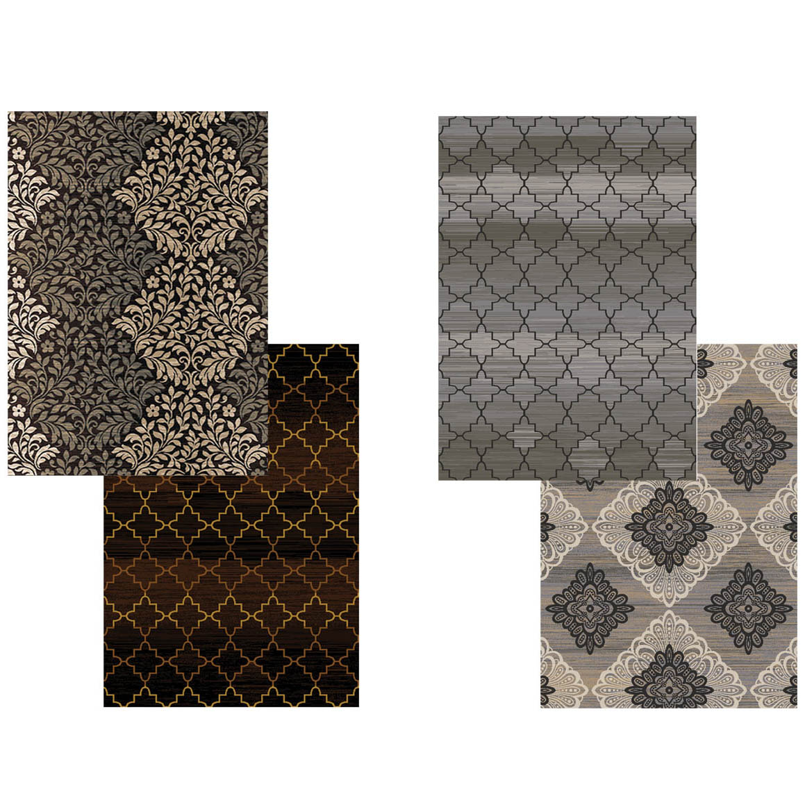 product today overstock rug shipping carolina weavers garden home shag by grey cloud dark rugs free