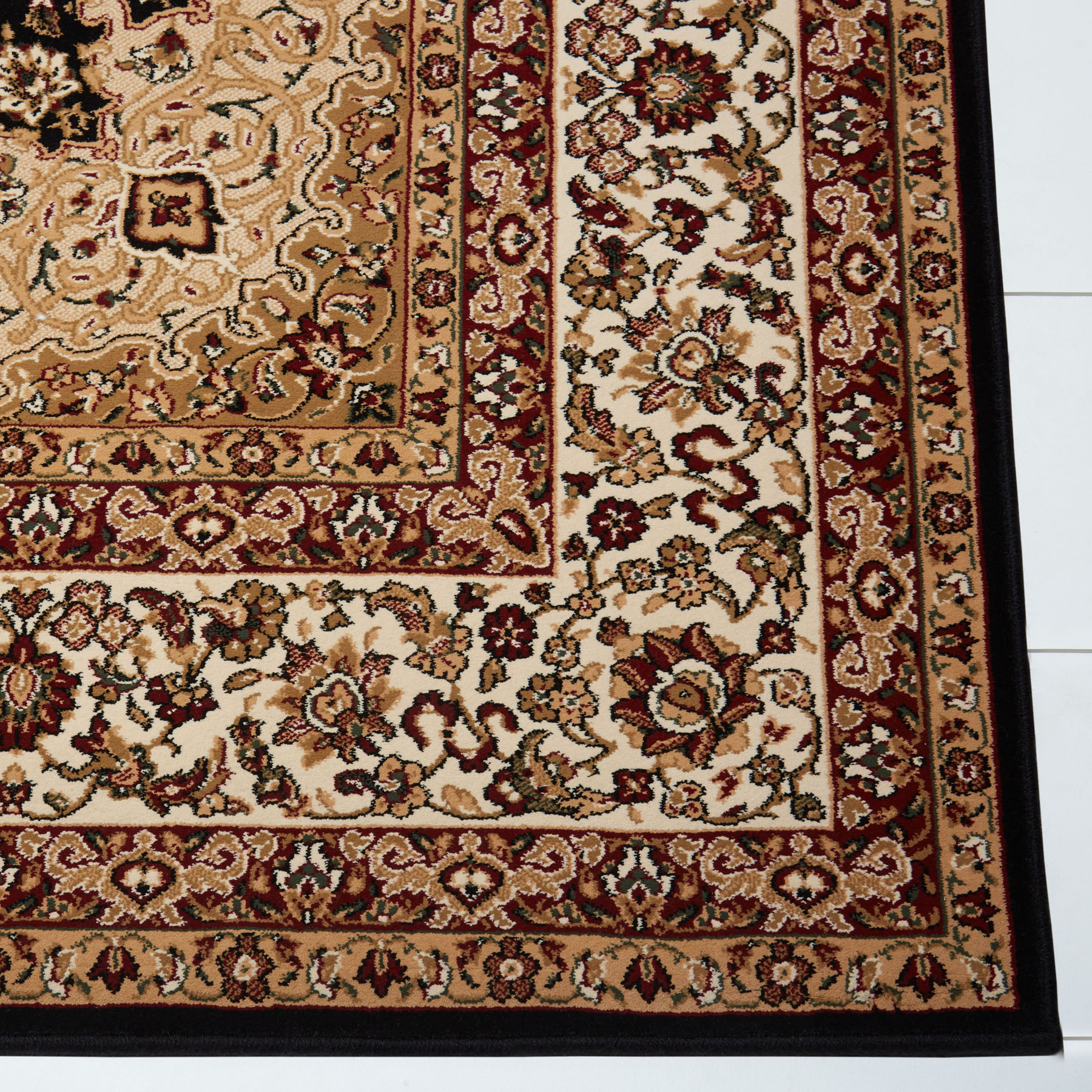 Free S H Black Persian Area Rug 13 X 16 Oriental 8301 Actual 12 5