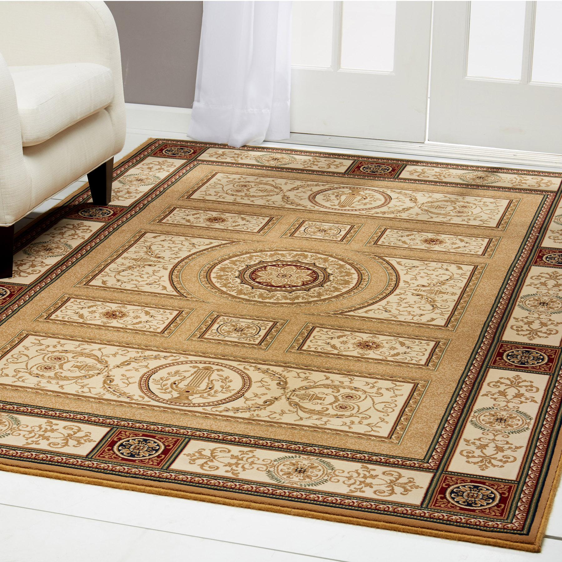 Gold Free S H Persian Area Rug 3 X 8 Runner Oriental 7 Actual 2 7