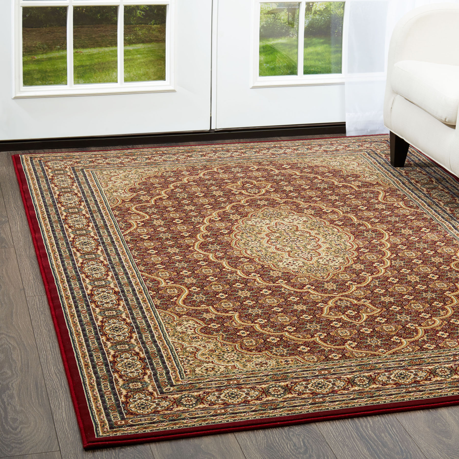 Free S H Red Oriental 3 X 8 Runner Persian Area Rug 90 Actual 2 7