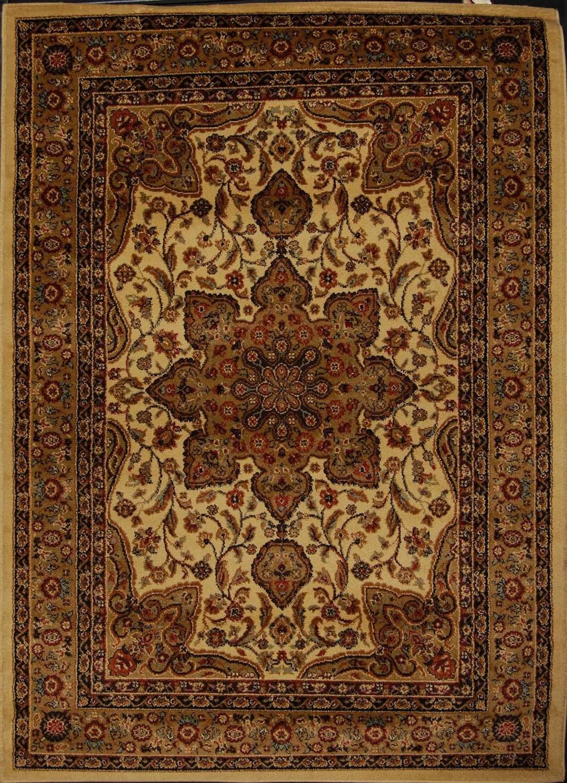 Large Medallion 8 X 11 Persian Area Rug Border Carpet