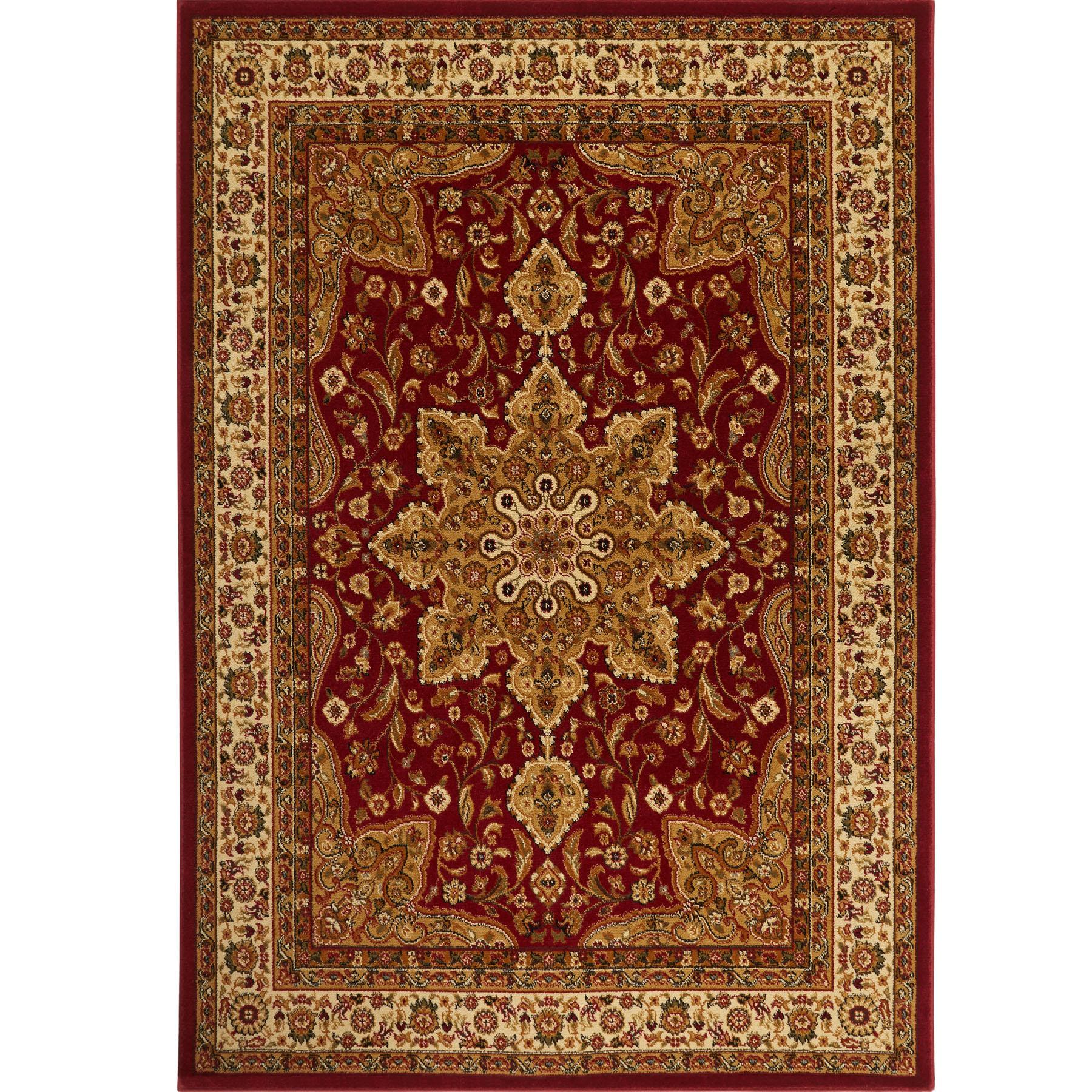 7 X 11 Area Rug: Large Medallion 8 X 11 Persian Area Rug Border Carpet