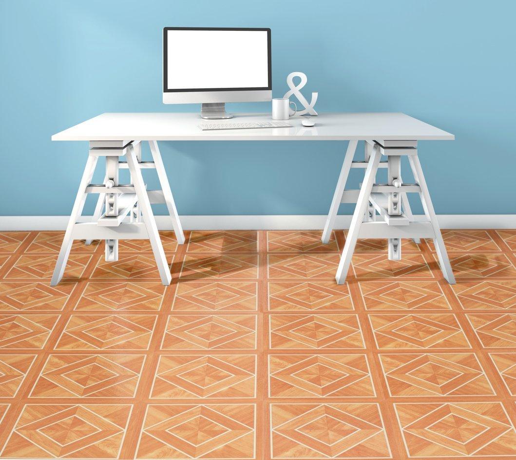 Wood Pattern Self Adhesive Peel Stick Vinyl Floor Tile