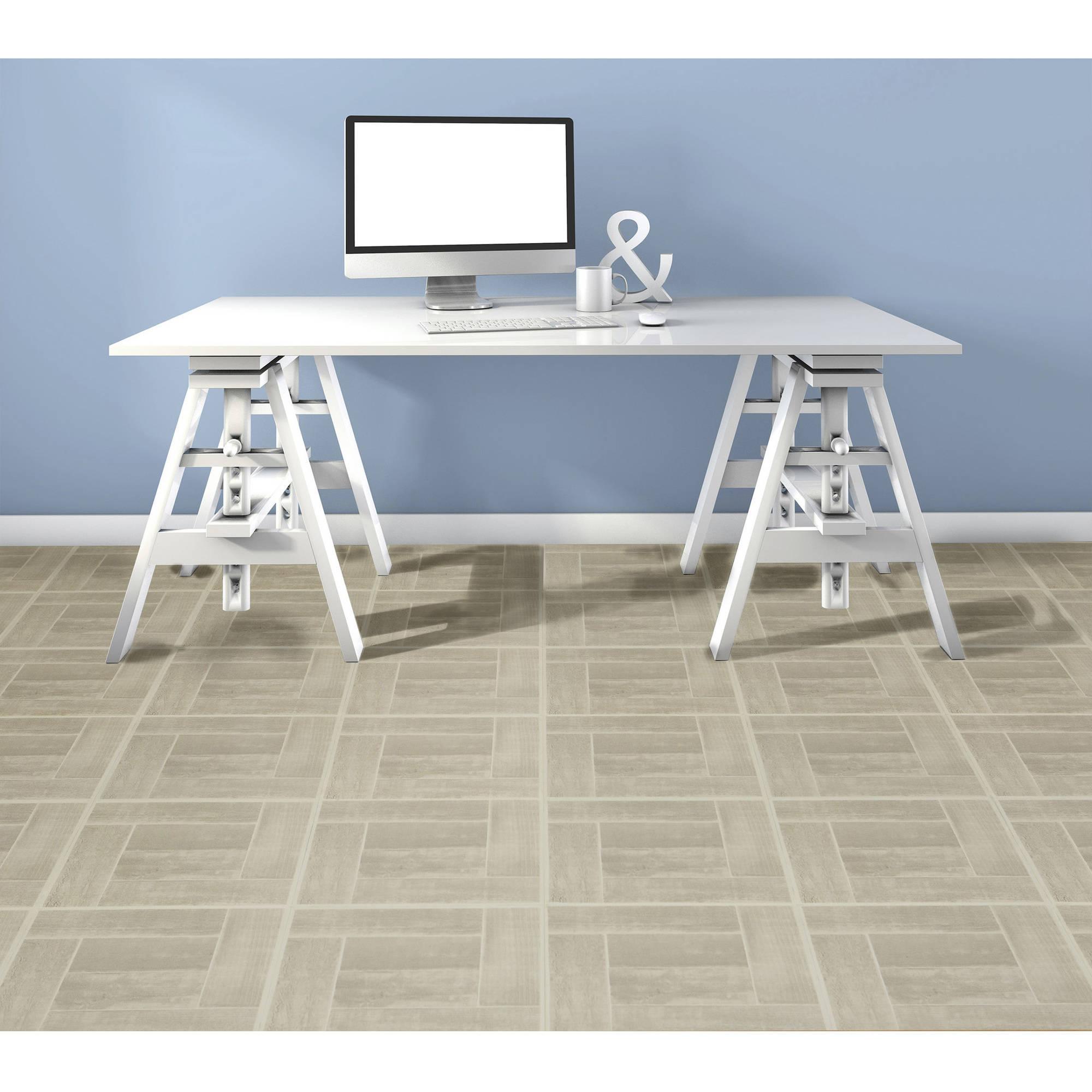 Wood pattern self adhesive peel n stick vinyl floor tile 20 wood pattern self adhesive peel n stick vinyl dailygadgetfo Images