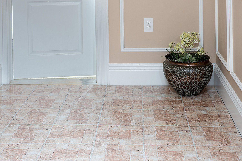 Marble Stone Pattern Self Adhesive Peel N Stick Vinyl Floor Tile 20 ...