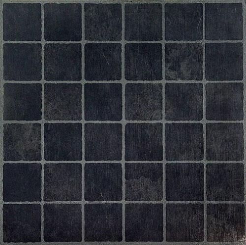 Rustic Slate Stone Self Stick Adhesive Vinyl Floor Tiles: DARK Slate CHECKERED Self STICK Adhesive VINYL Floor TILES