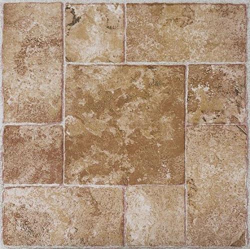 Rustic Slate Stone Self Stick Adhesive Vinyl Floor Tiles