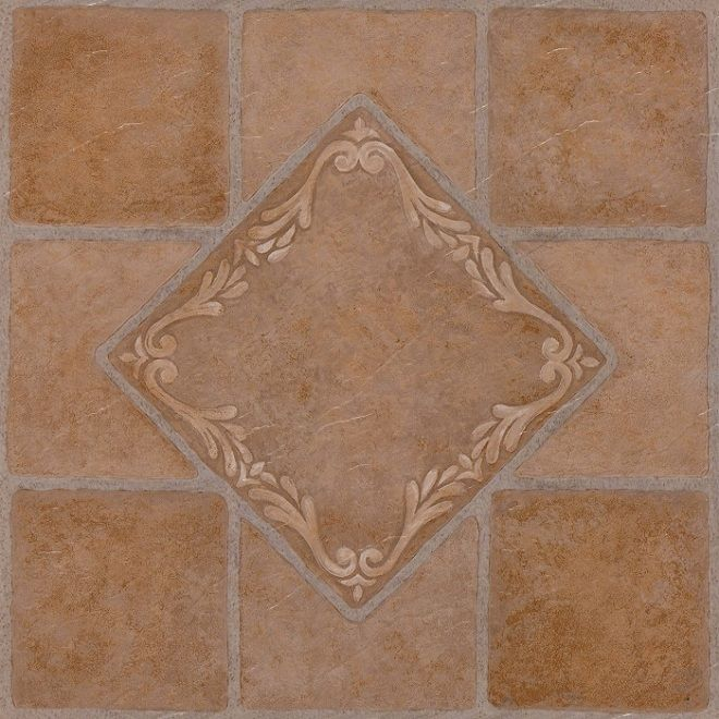 Marble Stone Pattern Self Adhesive Peel N Stick Vinyl Floor Tile 20